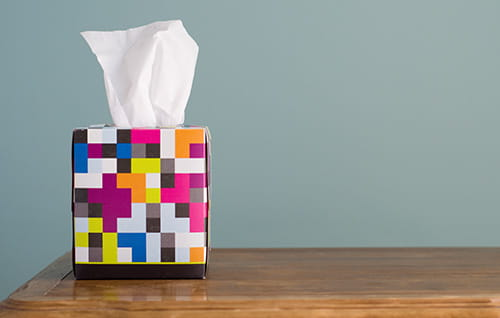 Box of tissues.